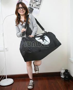 Travel bag luggage handbag portable one shoulder cross body bag large capacity boarding bag 3 Colors18392