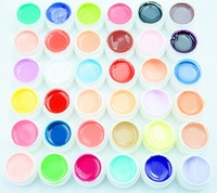 36 pcs Colors Pure Colour uv gel, Uv gel Set, Builder Gel for nail art