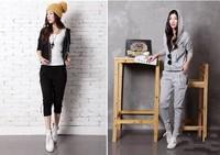 DLS Korean style brand suit Women Sport suit Casual clothes set 2013 New arrival Tracksuit Ladies Costume Sport fashion Hoodie