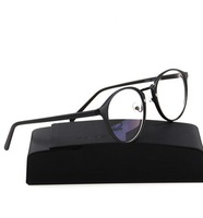 Radiation-resistant  Glasses  Anti-fatigue PC Goggles Round Box Glasses Fram With  Box  Black Tiger