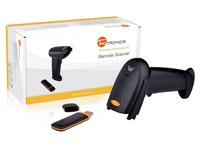 TaoTronics Wireless Cordless Visible Laser Barcode Hand Scanner Portable Scan Reader,32-bit Decoder,Mobile, Black, Wholesale