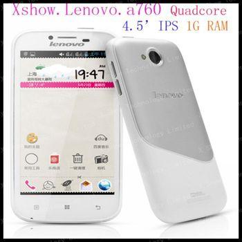 "56language lenovo envío libre A706 4.5 "" Android 4.1 MSM8225Q quad teléfono núcleo 1GB 4GB ROM RAM gps 3g teléfonos móviles Google Play"