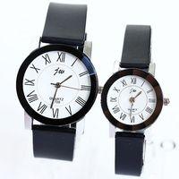 Watches Roman Numerals Silicone Simple Popular Fashion Quartz Lovers Men Women Girl Unisex Wrist Bracelet Clock