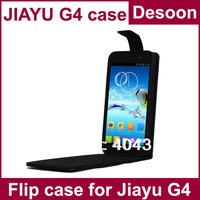 Jiayu G4 G3 G3s Pouch PU Leather Case Black Dustproof Free Shipping In Stock