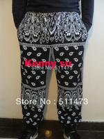 2014 new Bandana rhude mens harem jogger hiphop fashion ktz rap baggy cotton pants M TO 3XL free shipping