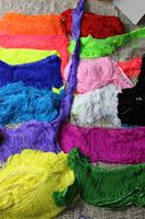 2014 hot Fringe lace latin tassel trimming dance dress trims nylon 20cm