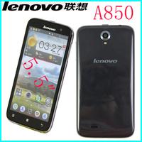 Original Lenovo A850 phone MT6582 Quad Core Phone 5.5 inch Android 4.2 GPS WCDMA 3G Smart Phone