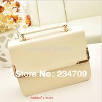 Free shipping,hot!new fashion candy color PU leather zipper women messenger bags/women leather handbags/women handbag,1 pcs/lot