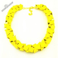 2014 New spring Free Shipping Z Luxury Trend fashion Necklaces & Pendants chunky choker necklaces statement women Factory Price
