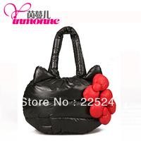 In 2013, the most popular brand popular rain velvet material silk cotton handbags free shipping