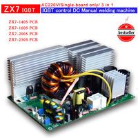 Circuit board of ZX7 250 IGBT PCB  Single board for  IGBTdc inverter welder AC220V  input r welding control board 3 in 1