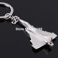 Free shipping aviones de combate llavero military key ring jewelery zinc alloy fashion F15 fighter plane key chain fighter