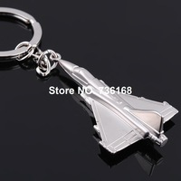 Free shipping aviones de combate llavero military key ring jewelery zinc alloy fashion F15 fighter plane key chain fighter