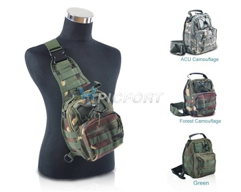 Free Shipping&Tracking # Tactical Molle Utility Shoulder Sling Pouch Backpack- CL00026