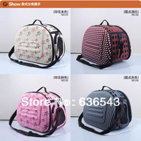 2013 FREE SHIPPING New Style Fashion Design Portable Pet Bag Pet Product For Dog Pet Carriers Dog House Dog Bag Size M
