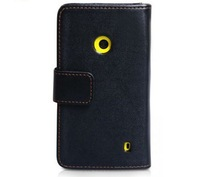 Free shipping Wallet Leather Case Cover for Nokia Lumia 520 hotsell