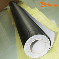 50cm*200cm Waterproof DIY Car Sticker Car Styling 3D 3M Car Carbon Fiber Vinyl Wrapping Film with 1pc 3M scraper