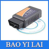 Bluetooth OBDII OBD2 OBD-II Diagnostic Scanner ELM 327 Scantool Check Engine  Car Code Reader For Android