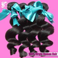 """EVAS Hair Products Human Malaysian Loose Wave Hair 10 pcs/lot mixed length 12""""-28"""" Top Grade 6A Human Hair Weave Free Shipping"""