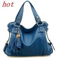 2014 Women Handbags Bolsas New Women's Bag Designer Handbags Leather Shoulder Leisure Bags, Fringed Messenger Bag, free Shipping