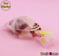 Free Shipping 100pcs PVC Cupcake Design Sealing Clip For Food Packaging Bag