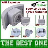 Wireless-N Wifi Repeater 802.11n/g/b Network Router Range Expander Singal Booster 2dbi Wifi Extender 300mbps EU/US/UK/AU Plug
