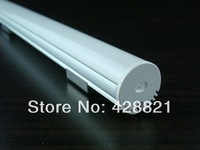 5m/Lot Free shipping 2020  aluminum profile with FROSTED cover for width up to 12mm led strips pendant lighting ceiling lighting