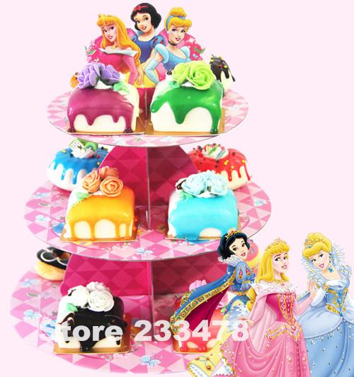 Free Shipping 2 Sets Princess Birthday Snow White Baby