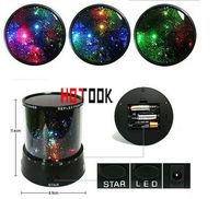 led master light star LED projection lamp Flashing Colorful Sky Night Lighting Love Starry Novelty decoration christmas CE RoHS