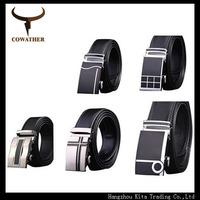 2014 Designer high quality cow genuine leather men belts for men,strap male metal automatic buckle,hip belt