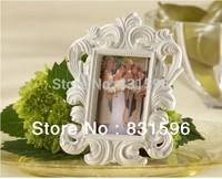 """""""White Baroque"""" Elegant Place Card Holder/Photo Frame Wedding Gift & Wedding Decoration Free Shipping"""