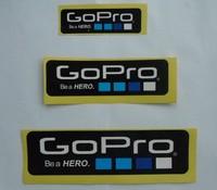 Dropshipping Gopro Heoro 3 Icon Sticker 6 Pcs/lot ( 2 S + 2 M + 2 L )