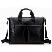 2013 fashion classic soft leather handbags men leather messenger bags business briefcase laptop bags