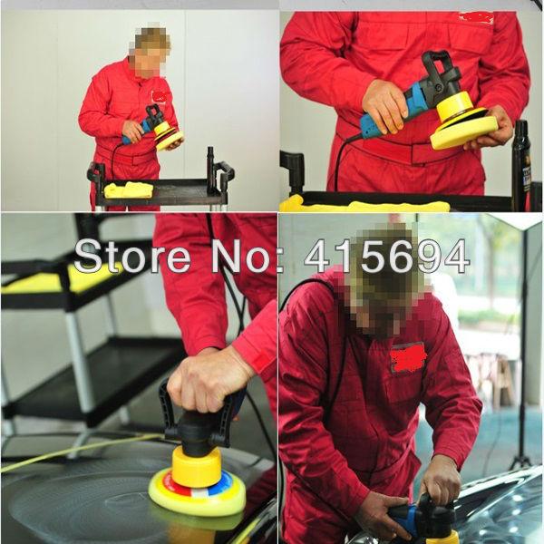 Hot Sale! Car & home floor waxing machine auto polishing machine sealing glaze machine car & motorcycle polishing machine.(China (Mainland))