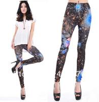 Galaxy Leggings Cheap Fashion For Women 2013 Autumn Winter Free Shipping