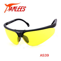 Panlees PC Safety Glasses Adjustable Temple  Safety Eyewear Indoor Application UV Protection Eyeglasses