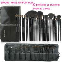 New  Professional 32 PCS Makeup Brushes Set Cosmetic Brush Pencil Lip Liner Make Up Kit Maleta Kit De Pincel Maquiagem Pinceaux