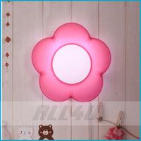 LAMPDA Flower Kids Wall Lamp Children bedroom wall decoration lamp Night Lamp (Good Gifts for Children)