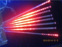 30 cm 8pcs a set AC110V-240V  LED Meteor shower tube Snow falling lights Snowfall light Christmas tree lighting decoration