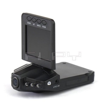 "Free Shipping 2.5"" TFT LCD Car DVR HD Camera 6 IR LED 270 Degrees Rotation Portable Audio Video Recorder [WITHOUT BATTERY]"