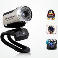 2014 ANC Webcams hd 1080P 1200W pixels hd webcam camera free drive computer video with microphone Original Genuine