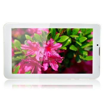 """New Arrival ICOO 7"""" Dual Core Android 4.1 Dual SIM Phablet GSM 512MB 4GB HD Bluetooth Wifi GPS Tablet PC P0007431 Free Shipping"""