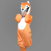 2014 child fox perform clothes set,baby animal clothing set,kids romper for photography /modeling wear// perform clothes