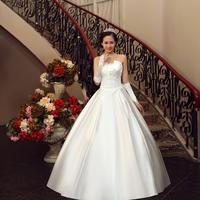 Hot Selling Off The Shoulder Pregnant Princess Wedding Dresses, Plus Size Floor Length Dress 11HS13