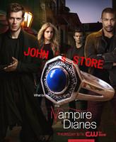 Freeshipping 20pc a lot Vampire Diary the Mikaelson Originals Family Ring Klaus Rebekah Elijah Finn Kol Mikael's ring XXG01