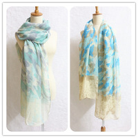 Free shipping(10pcs/lot) Viscose Women Butterfly Scarf/shawl/hijab/mulffer 180*95cm Soft touching  Wholesale scarves