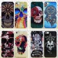 Printed Hard Cases For Iphone 5,Smile Teeth Flowers Skulls Designs fFlirtatious Case Cover Skin For Iphone 5S