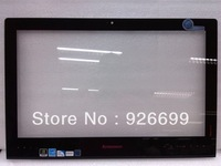 "Free Shipping  lenovo B540 All-in-one 23"" outside the screen glass Pannel  with front frame module"