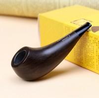 10 Tools Gift Set Smoking Pipe 3mm Metal Filter Padauk Wood Smoking Pipe 10cm Small Smoking Pipe Set HW-900J