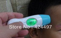 Protable Baby thermometer,Infrared temperature thermometer,Adult auto ir Digital thermometer Body forehead ear led thermometer